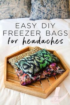 Craft Gifts For Father - Fantastic Present Strategies As A Life Long Migraine Sufferer, These Easy Diy Freezer Bags Are My Favorite Natural Way To Find Fast Relief From All Kinds Of Headaches. The Weight Of These Bags Helps Relieve Tension, Stress And The Sinus Headaches, How To Relieve Headaches, Relieve Sinus Pressure, Sinus Pressure Relief, Migraine Relief, Ocular Migraine, Headache Symptoms, Migraine Remedy, Herbs