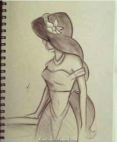 Pencil drawings for beginners, pencil sketches easy, pencil art drawings,. Easy Pencil Drawings, Easy Disney Drawings, Disney Drawings Sketches, Disney Princess Drawings, Cartoon Drawings, Cute Drawings, Drawing Sketches, Drawing Ideas, Drawing Disney
