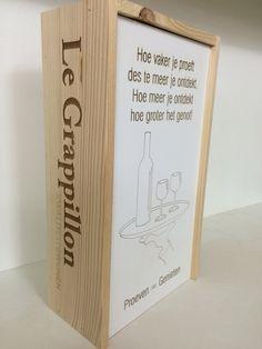 Voor de wijnproeverij van #grappillon #legrappillon