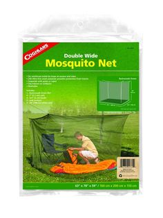 Coghlan's Double Mosquito Net * Trust me, this is great! Click the item shown here. : Camping supplies