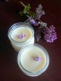 A Super Easy Old-Fashioned Creamy Dessert: Honey Lilac Posset (Or Rose, Elderflower, Lavender…)