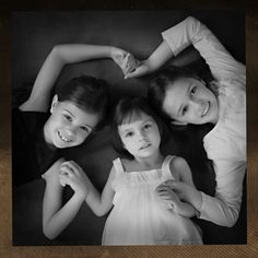 Three beautiful girls, just like their mother