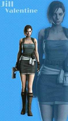 Cosplay Characters, Female Characters, Shinji Mikami, Resident Evil Girl, Peplum Dress, Bodycon Dress, Jill Valentine, Lady, Sims Ideas