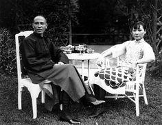 Chiang Kai-shek and Soong Mei-ling.