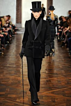 Ralph Lauren Collection -  Fall/Winter 2012 - I've always wanted a top hat