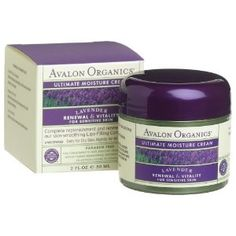 THE best facial moisturizer I have ever used! I love this stuff. Avalon Organics Ultimate Moist Cream - Lavender