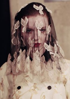 Meadham Kirchhoff's Fall/Winter 2013 collection.