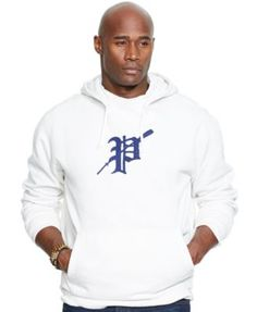Polo Ralph Lauren Big \u0026amp; Tall Fleece Rowing Hoodie - Hoodies \u0026amp; Sweatshirts - Men - Macy\u0026#39;s