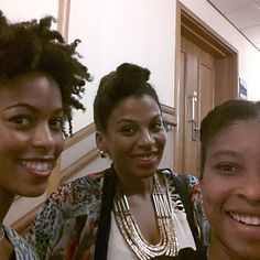 With the Natural Hair Daily ladies at Natural Hair Week Nottingham Nottingham, Natural Hair Styles, Events, Lady, Fashion, Moda, Fashion Styles, Fashion Illustrations