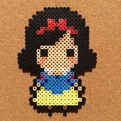 Snow White perler beads by  tsubasa.yamashita