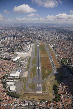Aeroporto de Congonhas (CGH), São Paulo-SP, Brasil