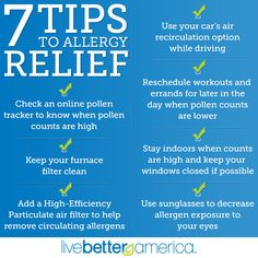 Spring Allergy Relief Tips