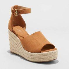 aa354ada0e Universal Thread Women's Emery Espadrille Sandals #fashion #style #shopping  #espadrilles afflink Comfy
