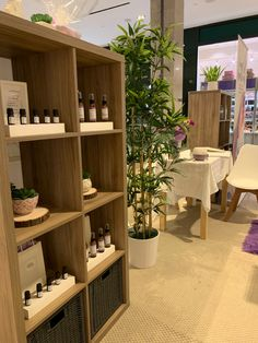 #boothdesign #booth #popup Booth Design, Popup, Essential Oil Blends, Apothecary, Shelving, Home Decor, Shelves, Decoration Home, Room Decor