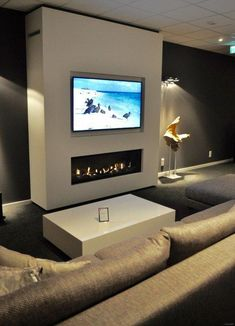 The TOP 7 of The biggest mistakes when choosing a fireplace, gas fire or stovebiggest Living Room Decor Fireplace, Fireplace Tv Wall, Modern Fireplace, Living Room Tv, Fireplace Design, Living Room Modern, Living Area, Interior Design Living Room, Living Room Designs