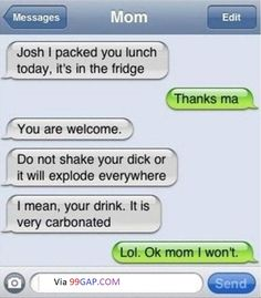LOL: Hilarious Text About Mom vs. Autocorrect