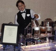 Coffee Sommelier Service, Hand brewed coffees from around the world for the VIP treatment www.tradeshowtrafficbuilder.com