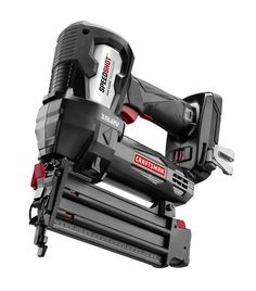The Craftsman C3 Brad Nailer is the latest addition to the C3 platform.  This cordless nail gun eliminates the need for loud compressors and hoses.  It can drive a 5/8