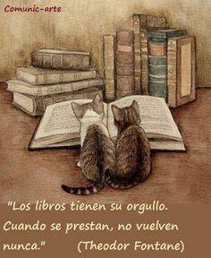 ¡Los libros tienen su orgullo!