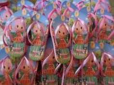 Chinelos Personalizados Lalaloopsy | Artes da Bi Personalizados | Elo7