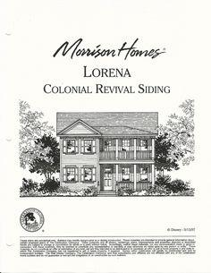 Lorena Colonial Revival Siding in Celebration FL