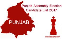 Punjab BJP AAP SAD INC Candidate list 2017 assembly election ticket declared, Punjab Vidhan sabha contesting candidate list, Punjab assembly election candidates list 2017