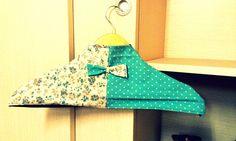 DIY hanger cover
