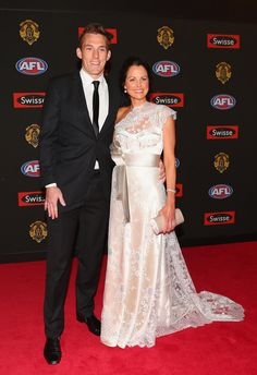 2012 Brownlow Medal Drew and Nicole Petrie