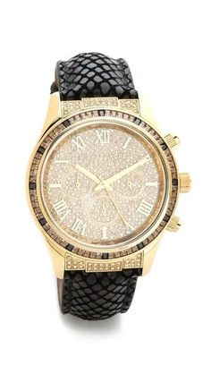 Michael Kors black and gold Cheap Michael Kors, Handbags Michael Kors, Michael Kors Watch, Michael Kors Bag, Mk Handbags, Moda Fashion, Fashion Bags, Fashion Jewelry, Women's Fashion