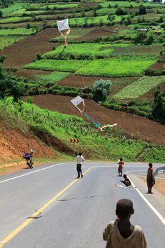 Two Kites, Muko | Uganda (by AdamCohn)