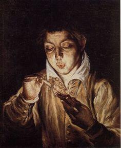 Παιδι Με Κερι, Ελ Γκρεκο | Καμβάς, αφίσα, κορνίζα, λαδοτυπία, πίνακες ζωγραφικής | Artivity.gr