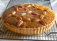 If you are planning to have a Paleo or Primal Thanksgiving meal, you might find that desserts are the most difficult part to make paleo-friendly. (Desserts, and also stuffing.) So like the last p...