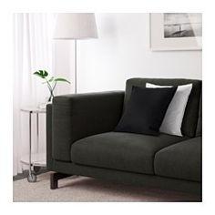 IKEA - NOCKEBY, Canapé 3 places, Tenö gris clair, chromé, , Confort et soutien optimum garantis car les coussins d'assise épais possèdent un noyau en ressorts ensachés ainsi qu'une couche supérieure en mousse et fibres polyester.Le noyau de ressorts ensachés est solide et conserve longtemps sa forme et son confort.Ce canapé très spacieux permet à chacun d'être assis confortablement.Tissu épais avec relief, très résistant, tissé teint dans différents tons.La housse est facile à entre...