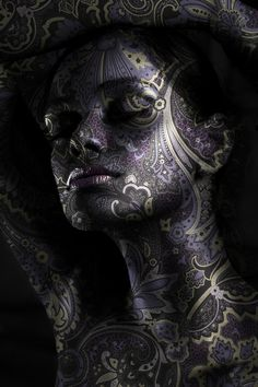 Artful use of displacement map in Adobe Photoshop