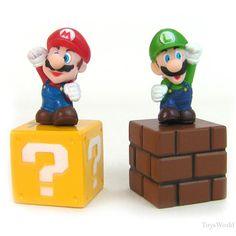 High Quality PVC 5 Super Mario Bros Action Figures free shipping on TradeTang.com