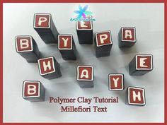 Learn how to make Millefiori Text. Links: My book: http://amzn.com/1470100932 My website: http://ArtByYonat.com