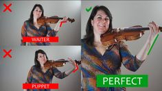 When people hold their instrument wrong it bugs me