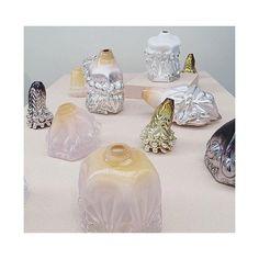 Hanna Hansdotter glass sculptures   via say hi to_ ⠀⠀⠀⠀⠀⠀⠀⠀⠀