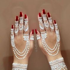 Everything You Need To Know About White Henna! Bridal Henna Designs, Unique Mehndi Designs, Mehndi Design Images, Henna Designs Easy, Arabic Mehndi Designs, Beautiful Mehndi Design, Mehndi Designs For Hands, Arabic Henna, Red Henna