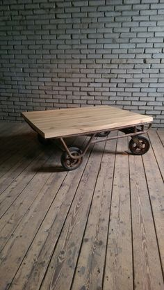 Industrial coffeetable