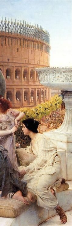 The Colosseum - Sir Lawrence Alma-Tadema, 1896