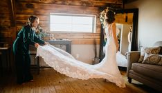 Photographer: Sara Clance Photography Venue: Willow Bends Venue Celebrations of the Heart Bride Fitted Lace Wedding Dress, Wedding Dresses, Wear Store, Bridal And Formal, Formal Wear, Celebrations, Bridesmaid, Prom, Future