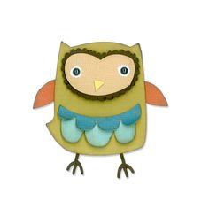 Sizzix Thinlits Owl (659909)