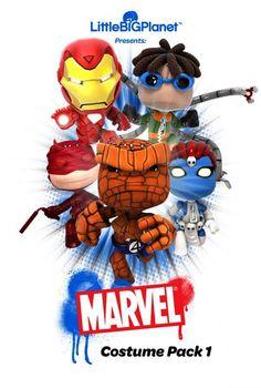 Choose Your Favourite Marvel Sack Boy Costume