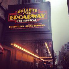 Bullets Over Broadway (April 10, 2014-August 24, 2014)