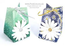 Stampin' Up! Demonstrator Pootles - Big Daisy Small Bag! Using Delightful Daisy
