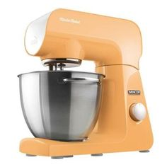 Stand Mixer in Pastel Orange by Sencor Robust Features FullMetal Body with Metal Gears 500Watt and 8 Speeds Great Addition to your Kitchen * Be sure to check out this awesome product.