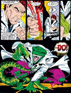 Curt Connors/Lizard from Amazing Spider-Man #313