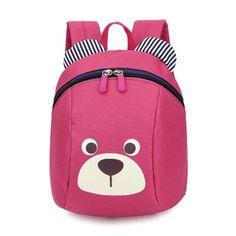 0cb447ca707c Cute Animal pig Backpack Kids School Bags For Teenage Girls Boys Cartoon Children  Backpacks kindergarten bear Baby Bag Aged 1-3
