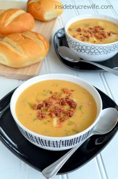 Spicy potato soup that everyone will enjoy.